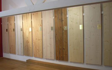 Choice of softwood planks